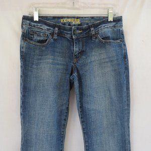 Express Stella Fit & Flare Lowrise Stretch Jeans